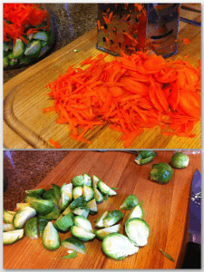 Try different textures for the veg